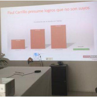 """""""PAUL PRESUME LOGROS QUE NO SON SUYOS"""": El gobierno de Benito Juárez es """"opaco, corrupto y extorsionador"""", acusa diputado en contrainforme"""