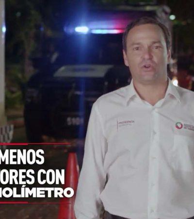 PAUL, UN PLAGIADOR: Se atribuye Alcalde autoría del alcoholímetro en Cancún y lo corrompe; despliega abrumadora propaganda por informe
