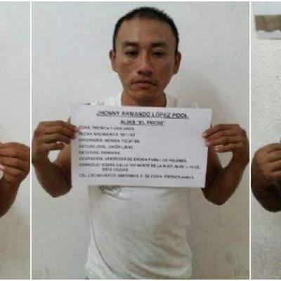 """Capturan a 3 integrantes de 'Los Pelones"""" implicados en ejecuciones en Cancún"""