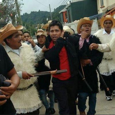 JUSTICIA POR PROPIA MANO EN CHIAPAS: Linchan y queman a 2 hombres en San Juan Chamula por presunto robo de un vehículo