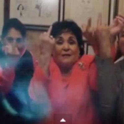 """""""MÉTANSE SUS FIRMAS POR DONDE LES QUEPAN"""": Carmen Salinas dice tener el respaldo del PRI para seguir como diputada"""