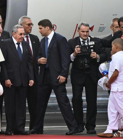 HISTÓRICA VISITA DEL PAPA A CUBA: Desde La Habana, Papa Francisco pide a Castro y Obama avanzar en la reconciliación
