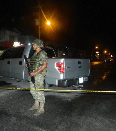 DAN GOLPE AL NARCO EN CANCÚN: Detienen a 3 'Pelones' y ubican casa con armas y hasta 200 kilos de droga