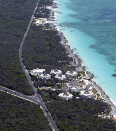 Pide Cemda a la Semarnat cancelar el proyecto 'Hotel Punta Jade' en Tulum