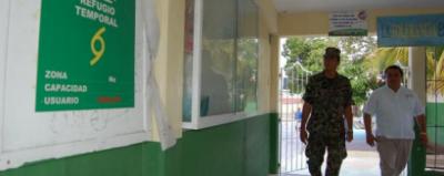 Supervisa Protección Civil regufios temporales en caso de huracán en Benito Juárez