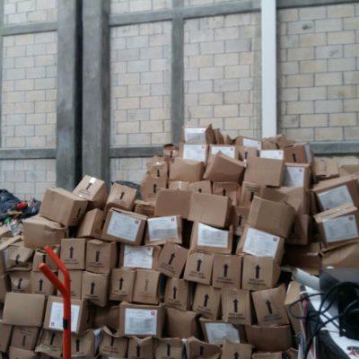 Exige PRD investigación por despensas no entregadas del Fonden en Cancún