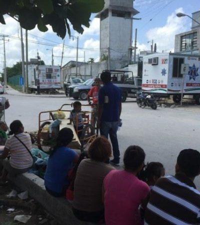 Conato de riña en la cárcel de Cancún
