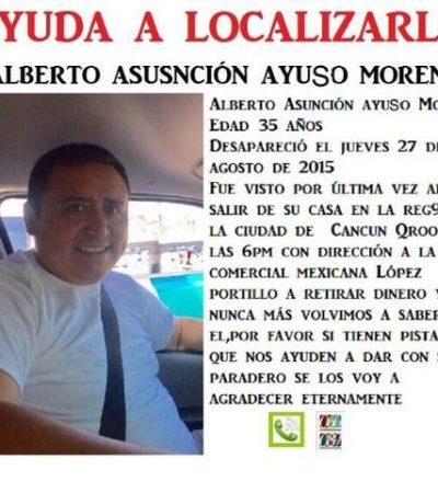 Identifican como sobrino de ex Alcaldesa Magaly Achac a uno de los 3 taxistas desaparecidos hace casi 15 días en Cancún