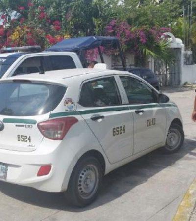 Recuperan taxi robado utilizado en ataque sexual contra una joven en Cancún