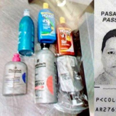 Se disparan casos de 'mulas' detenidas en aeropuerto de Cancún con droga