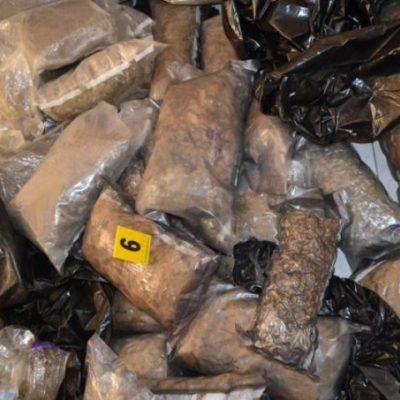 Se acumula la droga, pero no hay detenidos por narcobodegas halladas en Cancún