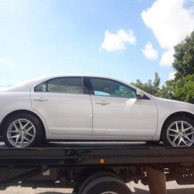 Recuperan en Cancún un vehículo robado en Chiapas