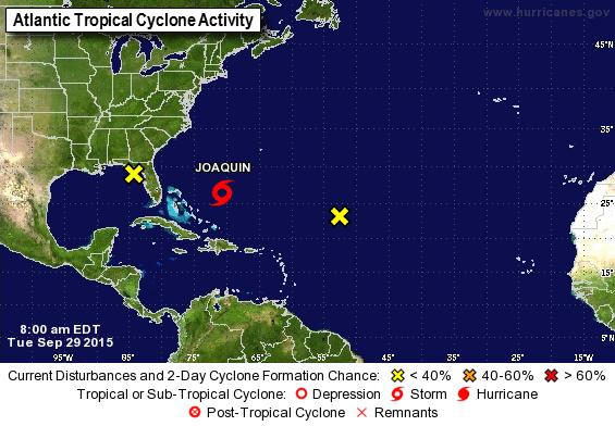 'JOAQUÍN' YA ES UNA TORMENTA: Se forma ciclón en el Atlántico…, pero no viene a Quintana Roo