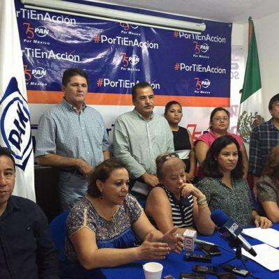 SE LE ACABÓ SU TIEMPO: Demandan panistas salida de Eduardo Martínez Arcila de la dirigencia en QR