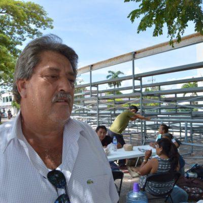 SE VAN CON LAS MANOS VACÍAS: Ex trabajadores de FCP levantan plantón en Chetumal por desgaste