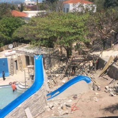 Impone Profepa multa de un millón de pesos a inmobiliaria por construir balneario sin permisos en Isla Mujeres