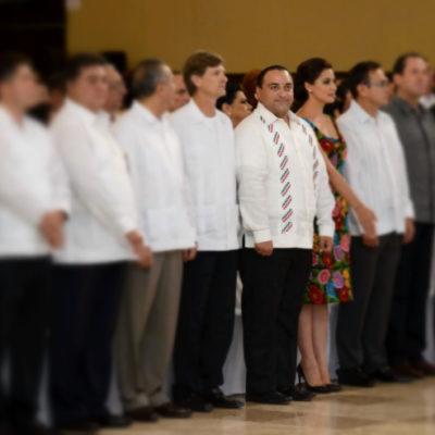 SE AFERRA BORGE A SU 'QUINTANARROÍSMO': En su cuarto informe, insiste Gobernador en vetar a Carlos Joaquín para la sucesión del 2016