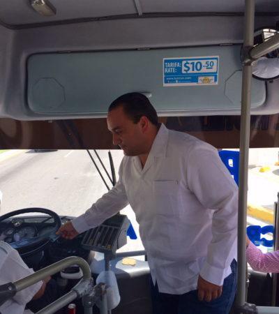 """""""ES SATISFACTORIO DEJAR LAS COMODIDADES"""": Informa Unidad del Vocero que Beto se subió a un camión en Cancún"""