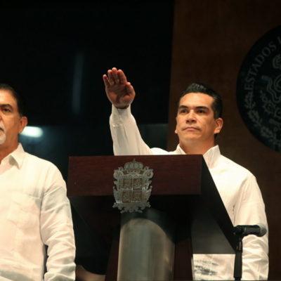ASUME 'ALITO' COMO NUEVO GOBERNADOR EN CAMPECHE: Alejandro Moreno Cárdenas dice que será 'implacable' contra la corrupción