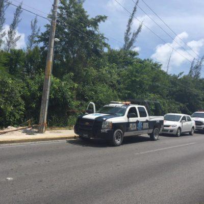 Mientras Borge presentaba su informe en Chetumal, hallan restos de 2 presuntos ejecutados en Cancún y Puerto Morelos