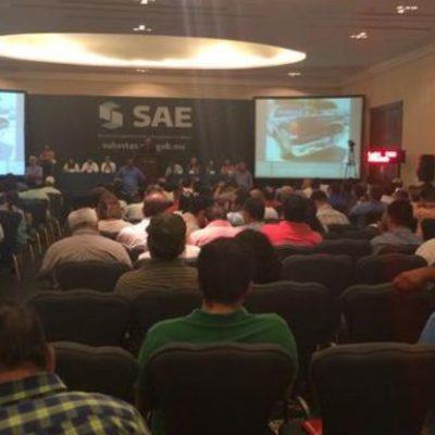 Subasta el SAE en Cancún bienes incautados al crimen organizado por 202 mdp
