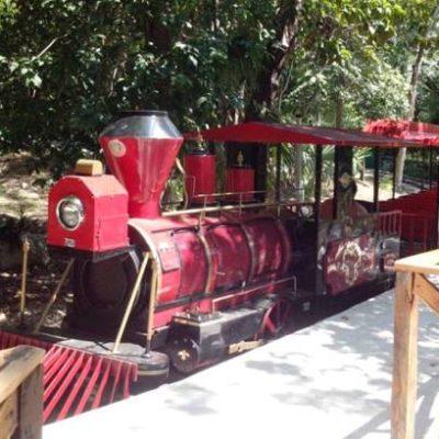 Tras invertir 3 mdp, vuelve el trenecito al zoológico de Chetumal