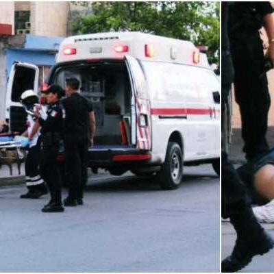 INTENTO DE EJECUCIÓN EN LA REGIÓN 95: A quemarropa, balean a un hombre en Cancún y lo mandan al hospital; no descartan ajuste de cuentas