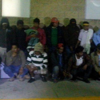 Tras pagar fianza de hasta $20 mil por persona, salen libres 40 invasores en Playa del Carmen