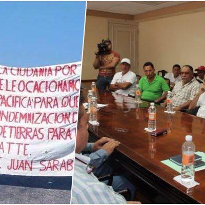 FUNCIONÓ EL BLOQUEO: Con mediación de Mendicuti, ejidatarios levantan cierre de la vía Chetumal-Escárcega en protesta contra SCT en el sur de QR