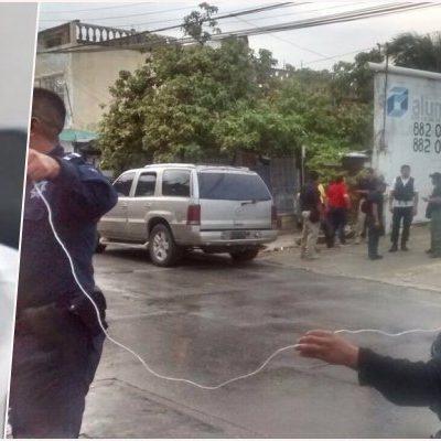DESLIZA DIPUTADA POSIBLE MÓVIL POLÍTICO EN ATAQUE A SU PAREJA: Afirma Marybel Villegas que no se trató de un robo el incidente en Cancún donde el notario Jorge Parra Moguel fue baleado; confía en que caso se aclare