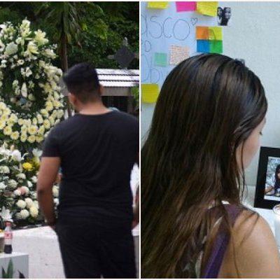 SEPULTAN A UNIVERSITARIA ASESINADA EN CANCÚN: Familiares y amigos dan último adiós a Karen Carrasco; dice Procurador que resolverá feminicidios