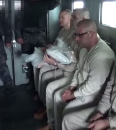 EXTRADITAN A 'LA BARBIE': Edgar Valdés Villarreal y otros 12 narcotraficantes fueron entregados a EU