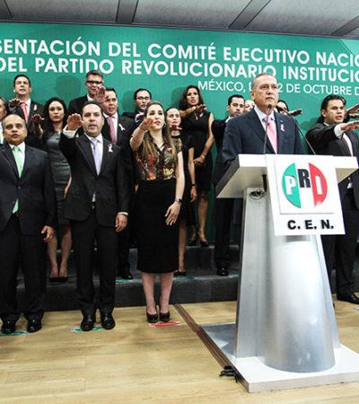 REESTRUCTURA BELTRONES CEN DEL PRI: Ratifican a ex Gobernador Joaquín Hendricks en la Secretaría Técnica