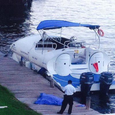 Consignan por homicidio culposo a capitán de embarcación por trágico accidente en Cancún