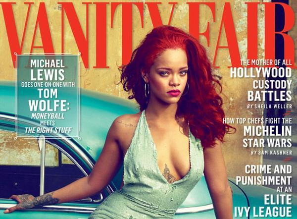 SE 'DESTAPA' LA 'NUEVA' CUBA: Celebra Vanity Fair apertura de la isla a EU con desnudo de Rihanna