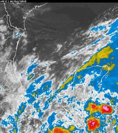 SEGUIRÁN LAS LLUVIAS: Onda tropical 44 continuará afectando a toda la Península de Yucatán con mal tiempo