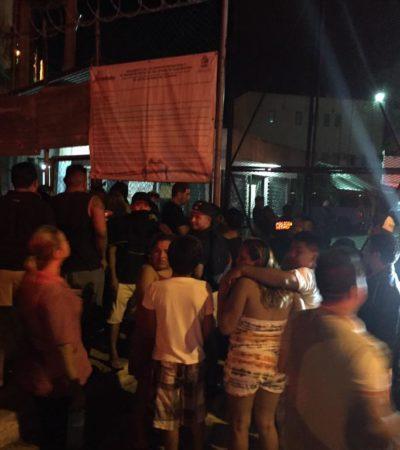 Permanecen hospitalizados 7 reos tras la trifulca en la cárcel de Cancún; confirman deceso de reo por balazo