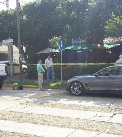 ATENTAN CONTRA EX GOBERNADOR DE COLIMA: Recibe Fernando Moreno Peña 4 balazos a quemarropa; está hospitalizado