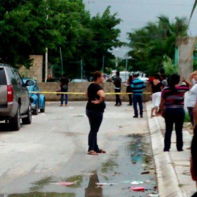 MATAN A TAXISTA POR UN CELULAR EN CANCÚN: Ladrón acuchilla a un hombre que lo encaró tras robarle en la Región 107