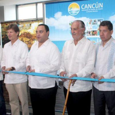 ARRANCA EL CANCÚN TRAVEL MART: Anticipan arribo a México de 30 millones de turistas al cierre del 2015 y una derrama de 17 mil mdd
