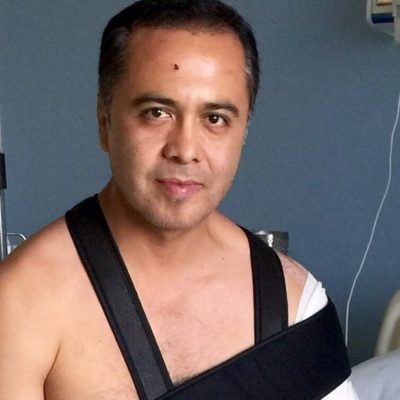 Dan de alta al notario Jorge Parra Moguel, baleado en Cancún; consignan expediente del agresor