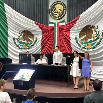 Designa Congreso a 2 mujeres como nuevas magistradas del TSJ; presentan iniciativas de reforma político-electoral