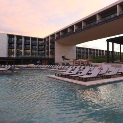 CORTAN LISTÓN EN HOTEL DE LUJO: Inauguran el Grand Hyatt Playa del Carmen Resort con 314 habitaciones
