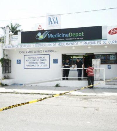 INSEGURIDAD CRECIENTE EN CHETUMAL: Con armas de fuego, atracan negocio en Chetumal y se llevan botín de $90 mil