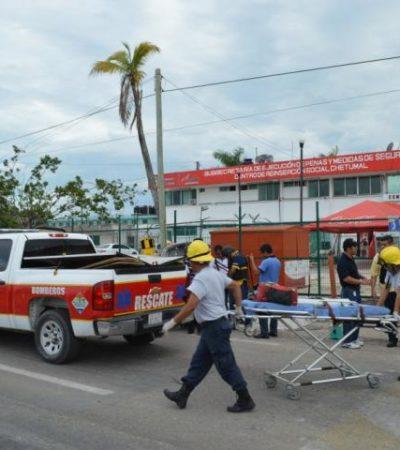 Trasladan del Cereso de Chetumal a Cancún a reos implicados en riña