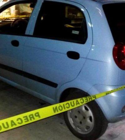 INSEGURIDAD EN CHETUMAL: Tirotean auto de jovencita en un presunto intento de robo en la colonia Solidaridad