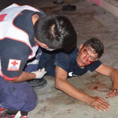 INSEGURIDAD EN CANCÚN: Golpean y asaltan a 2 personas en la Avenida Kabah