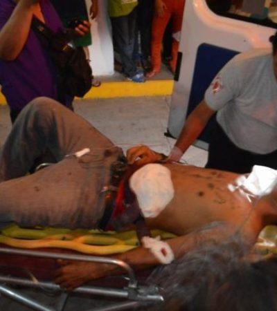 ESCOPETAZO A QUEMARROPA: Beliceño intenta matar a un hombre en Subteniente López; investigan posible pleito entre fayuqueros