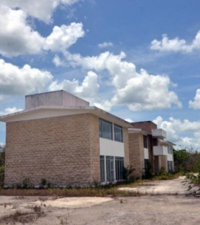 NUEVO PENAL, SEPULTADO: No hay dinero para construir otra cárcel en Cancún; proyecto tendrá que esperar