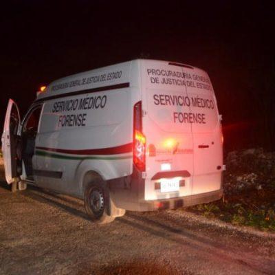 OTRO EJECUTADO EN CANCÚN: Hallan cuerpo putrefacto de hombre con heridas en el cuello junto a presunto narcomensaje